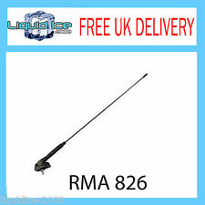 RMA826 LAND ROVER ROOF MOUNT SINGLE SECTION SQUARE BASE AERIAL ADAPTOR MAST