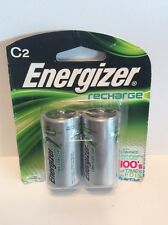 Energizer Rechargeable Batteries C Cell NIMH Pack Of 2