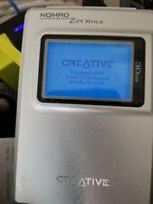 Creative Nomad Jukebox Zen Xtra Silver (30 GB) Digital Media Player (Works)