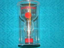 Grand Marnier - unusual shot glass- plastic- looks like bottle inside- HTF