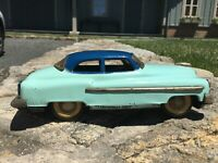 Tin  1949 Cadillac Friction Powered Toy Car - made in Japan
