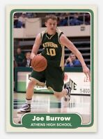 Joe Burrow Athens High School Rookie RC LSU TIGERS QUARTERBACK 2020 Basketball