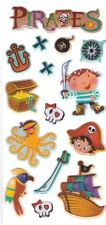 3D Epoxy Gel Stickers Pirates  for Scrapbooking sticker Album school