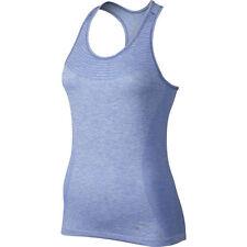 Nike Womens Dri-Fit Knit Running Tank Top Chalk Blue Racerback NWT L Large $65