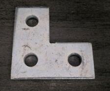 Unistrut P1036 Flat 3 Hole Plate 90 Fitting Zinc Plated