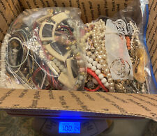 Costume Jewelry  bulk lot of  10 lb.--lots of  items + other jewelry #42
