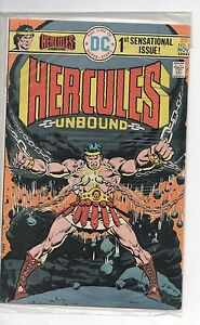 HERCLUES UNBOUNDS B # 1 OCT/NOV 1975 BY DC COMICS FINE