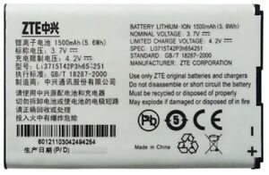 NEW OEM ZTE Li3715T42P3H654251 MF65 MF62 MF61 MF60 MF30 AC33 AC30 Z320 Battery