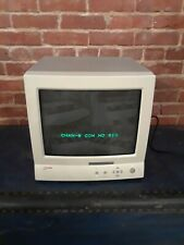 """Ultrak Km1400Cn 14"""" Vintage High Performance Color Monitor Gaming Security"""