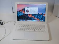 """Apple Macbook A1342 13"""" Unibody - Core 2 Duo 2.26GHz 4GB 250GB HDD - Bad Battery"""