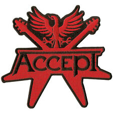 ACCEPT -  Patch Aufnäher - logo cut out 12x12cm
