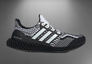 """Adidas Ultra 4D 5.0 Running Shoes """"Cookies and Cream"""" G58158 Mens Multi Size NEW"""
