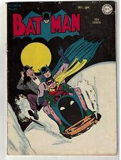 Batman 26 Golden age Alfred back up story VG- 3.0 Bat Sled 1945