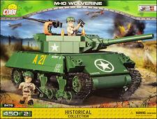COBI M-10 Wolverine (2475) - 450 elem. - WWII US tank destroyer