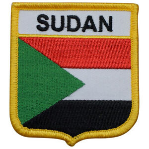 "Sudan Patch - Red Sea, Africa, Khartoum 2.75"" (Iron on)"