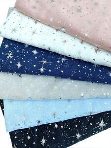 Shining Star Foil Print Glitter Sparkle Metallic Lightweight Scarf Shawl