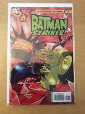 BATMAN STRIKES 36, NM- (9.0 - 9.2), 1ST PRINT, WB KIDS, LOW PRINT RUN
