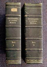 Most, Enzyklopädie der gesamten Medizin Band 1 + 2, zweite Auflage, Leipzig 1837