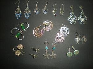 12 Pairs of Earrings - Boho, Gypsy Style