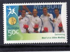 2006 Commonwealth Games 50c Swimming Men's 4 x 100m Medley MNH