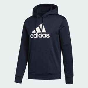 NWT ADIDAS Big & Tall Men's Athletic Sweatshirt Blue Gray 2XLT 3XLT 4XL