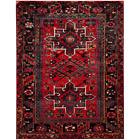 Vintage Hamadan Red/Multi 8 ft. x 10 ft. Area Rug
