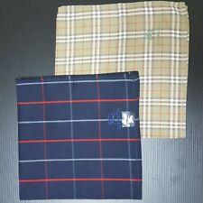 Lots of 5  Burberrys Nova Check Classic Bandanna Handkerchief