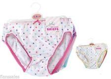 Unbranded Cotton Blend Underwear (Sizes 4 & Up) for Girls