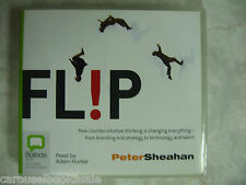 Flip By Peter Sheahan Audio CD Book Counter-intuitive Thinking 9 hrs 7 cds B8