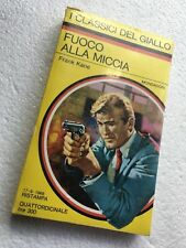 I CLASSICI DEL GIALLO Mondadori sigillato mai letto N°43 FUOCO ALLA MICCIA