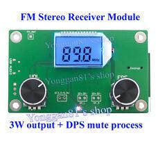 Digital Stereo Radio DSP&PLL FM Receiver Module 87MHz-108MHz W/ Serial Control