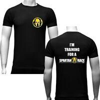 T-Shirt Spartan race allenamento training palestra adulto bimbo Bianca / Nera