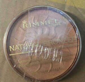 RIMMEL WATERPROOF NATURAL BRONZER POWDER - 020 SUNSHINE 14G
