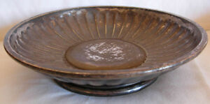 AN OLD CHRISTOFLE FRANCE SILVER PLATED BOWL
