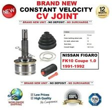FOR NISSAN FIGARO FK10 Coupe 1.0 1991-1992 NEW CONSTANT VELOCITY CV JOINT KIT