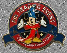 Sorcerer Mickey Pin MK's Pin'versary Pin Trading Event Pin - DISNEY Pin LE 400