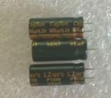 LOT 3 CONDENSATEURS CARTE MÈRE 1800µF 6,3V 105° pas de 3,75mm Diam.8 x L.21mm