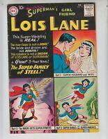 "Superman's Girlfriend, Lois Lane 15 VG+ (4.5) 2/60 ""The Super Family of Steel!"""