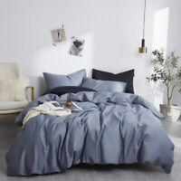 Silky Soft Egyptian Cotton Bedding Set Duvet Cover Set Bed Sheet Pillowcases
