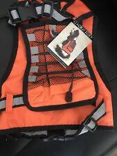 Zack  & Zoey Medium Dog Safety Vest W/ Drink Holder New W/ Tag