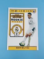 Eder Militao 2019-20 Panini Chronicles Contenders Rookie Ticket RED TMall RARE📈
