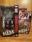Transformers Siege Soundwave Laserbeak and Ravage New Sealed Hasbro