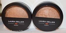 2 Laura Geller baked body frosting Honey Glow all over face/body .32oz