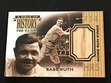 Babe Ruth Custom New York Yankees Bat Card Art 700 Home Run Club 714 HRS