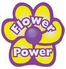 Flower Power Car Magnet - Great For VW Volkswagen Bugs, Busses, Vans, Beetles