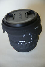 Sony A mount Sigma EX 10-20mm f/4.0-5.6 HSM DC Lens never used