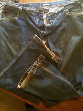 Mens LowRider Clothing Brand Jeans Blue Sz 42 X 32 100% Cotton Baggy