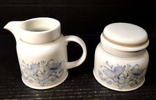 Royal Doulton Inspiration Creamer and Sugar with Lid LS1016 EXCELLENT!