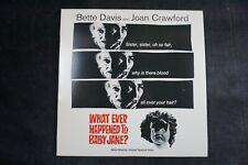 WHAT EVER HAPPENED TO BABY JANE? Bette Davis/Joan Crawford HORROR *LASERDISC*
