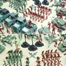 307Pcs Military Playset Soldier Army Men Figures Models Plastic Toy Sand Table